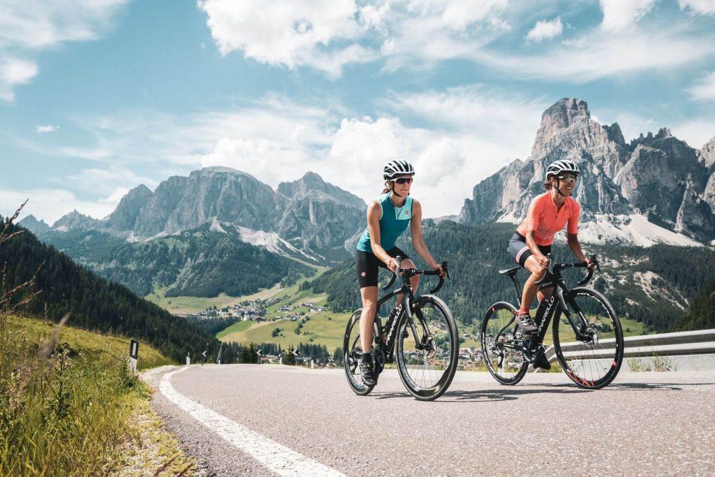 Vytrvalostný trénink na bicykli.